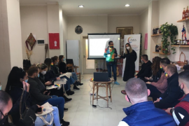 OMSA Conducts Albania's Very First LGBTI Equality Training With Youth Political Forums