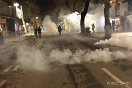 Fourth Day of Protests Over Police Killing of Young Man Concludes in Tirana