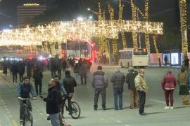 Sixth Day of Protests in Albania Ends Peacefully