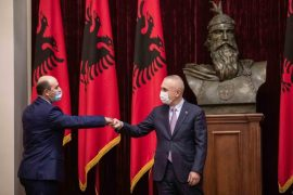 Fifth Judge of Constitutional Court of Albania Gives His Oath to President