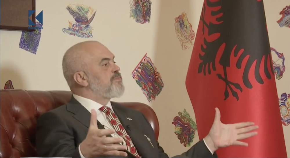 Rama Complains to Forbes France about Not Being Understood in Albania