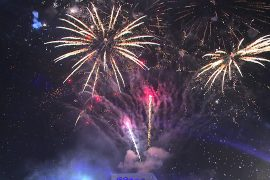 Tirana to Be Treated to Fireworks in 12 Places Around the City