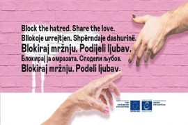 Anti-Hate Speech Campaign Comes to the Western Balkans
