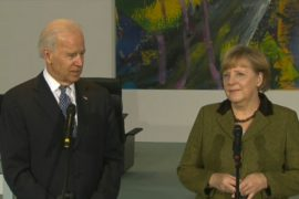 Biden and Merkel Discuss Common Issues, Including Western Balkans
