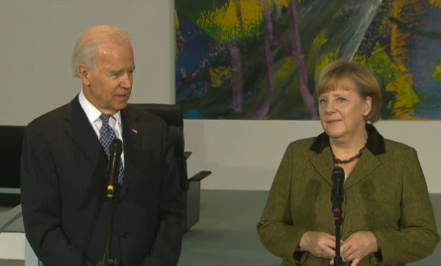 Joe Biden dials German Chancellor Merkel, seeks to revitalise transatlantic alliance