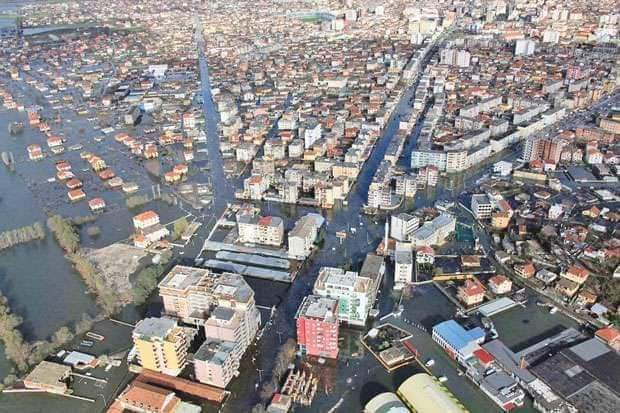 Heavy Rain Results in Flooding Throughout Albania