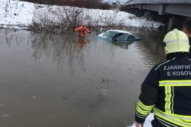 Flooding in Kosovo, Outgoing Prime Minister Visits the Situation Center