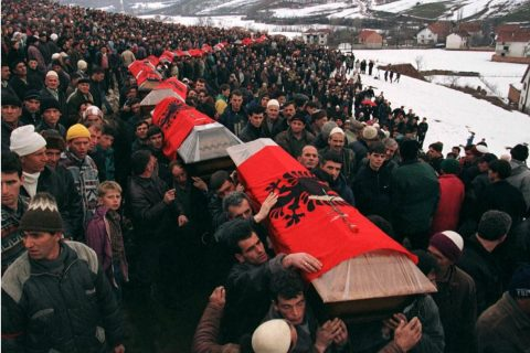 Albanian Leaders Commemorate Kosovo's Recak Massacre