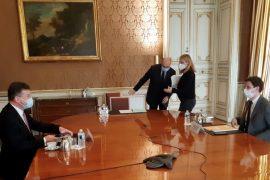 EU Envoy Lajcak Discuss Kosovo-Serbia Dialogue with French Secretary of State