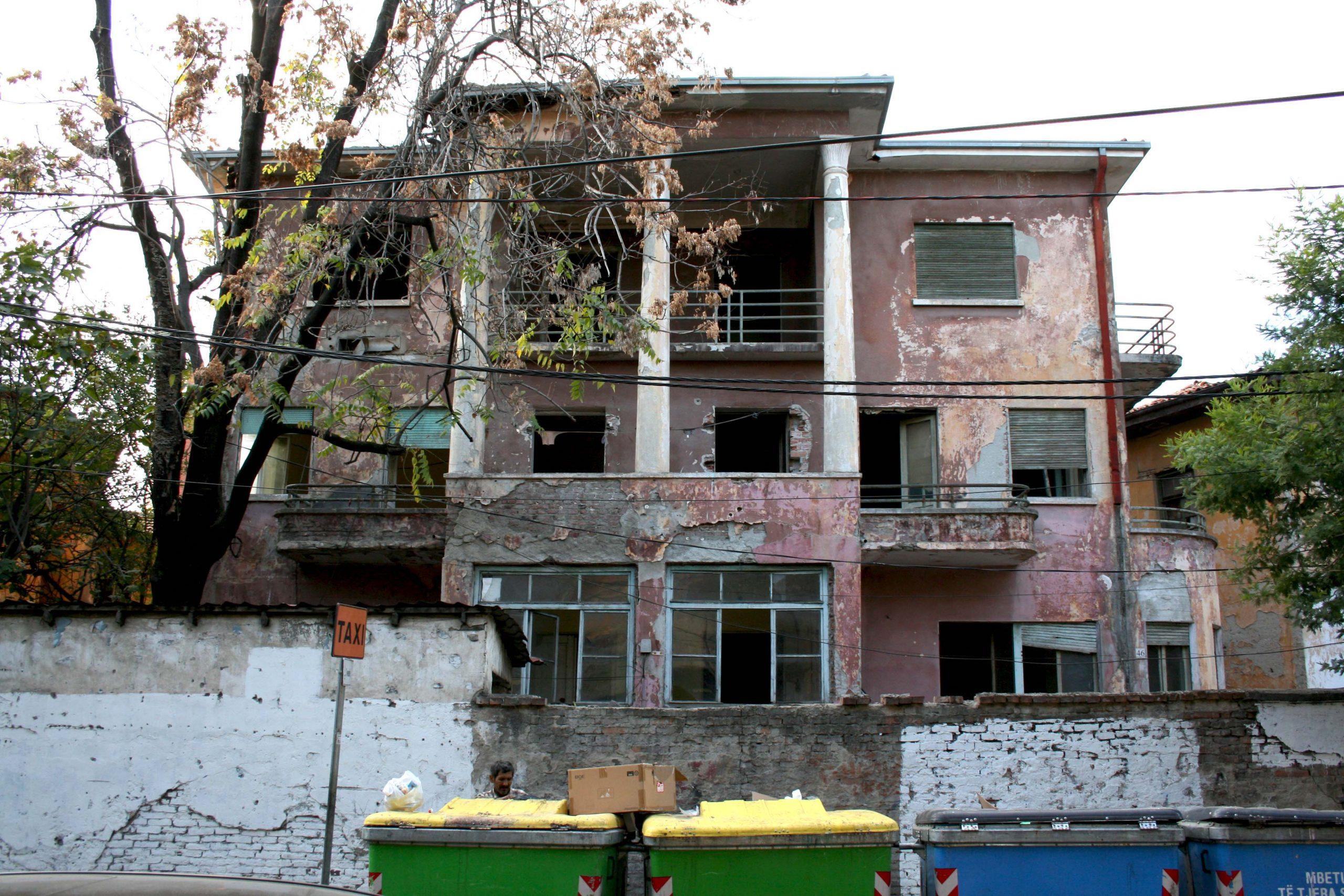 Historic Radio Tirana Building Looks Set to Be Demolished