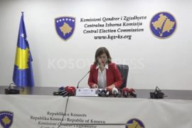 Head of Kosovo CEC Claims Political Interference and Threats in Her Work