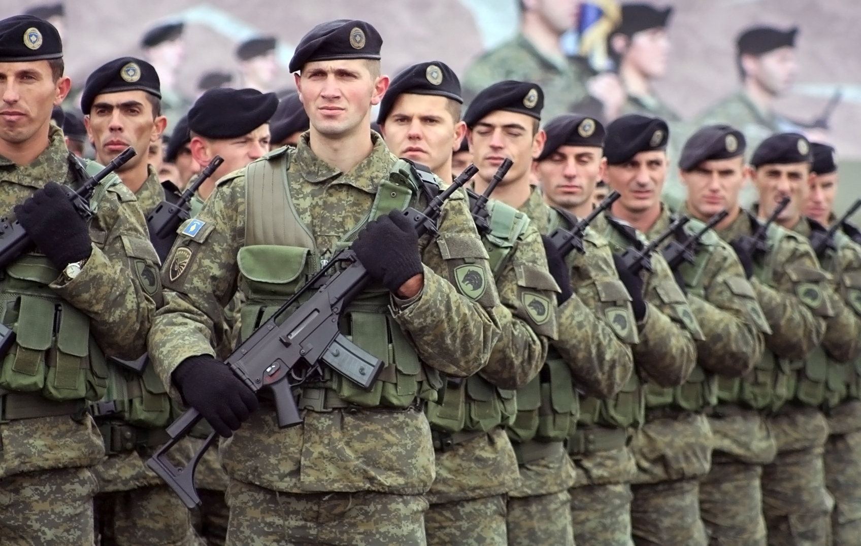 Kosovo and US Troops Prepare for Joint Deployment to Peacekeeping Mission
