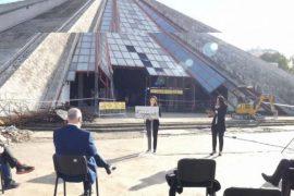 "Yuri Kim: Tirana Pyramid was ""Cynical Investment of the Dictatorship"""