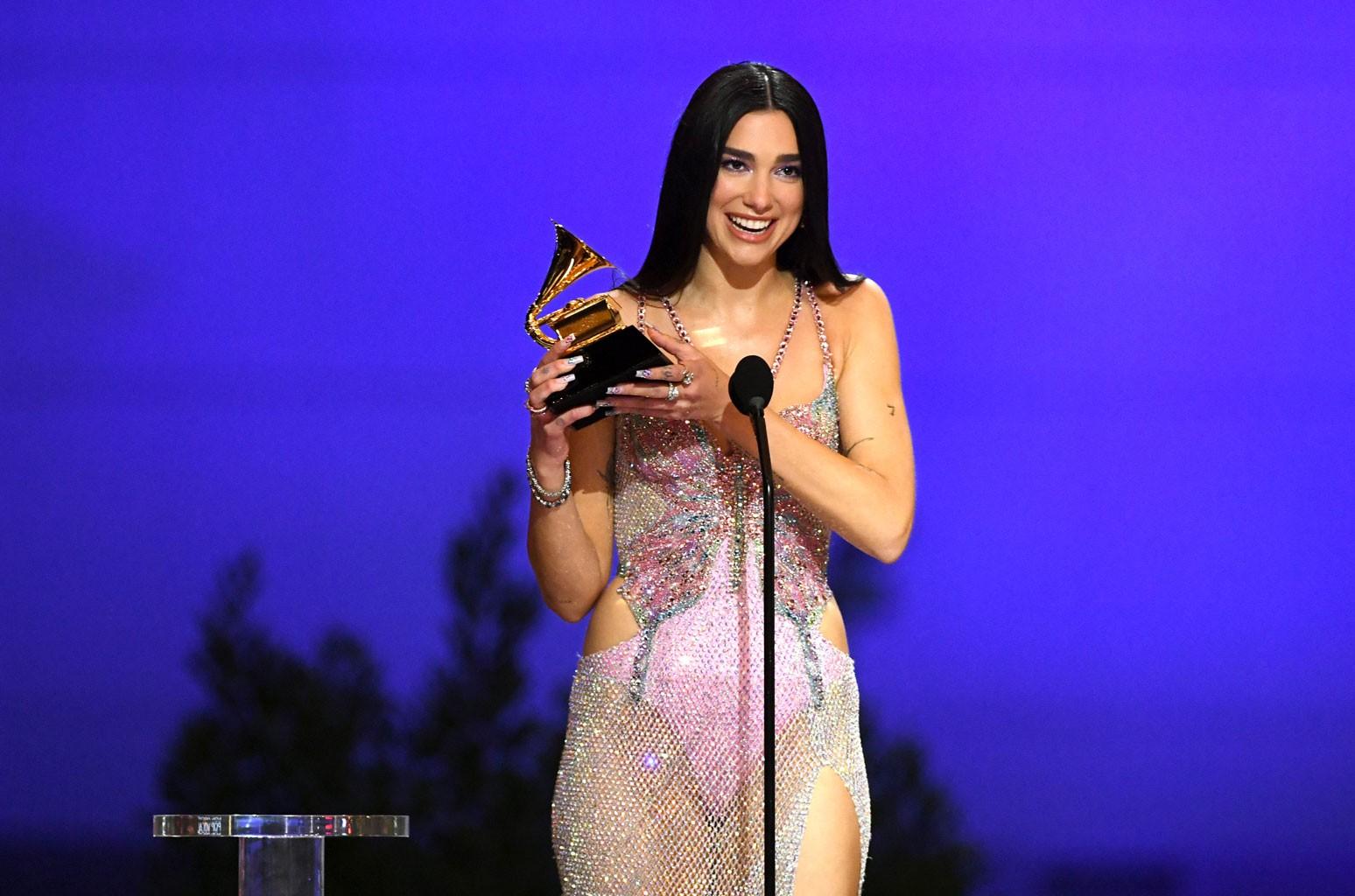 Kosovo's Dua Lipa Wins a Grammy for the Best Pop Vocal Album - Exit - Explaining Albania