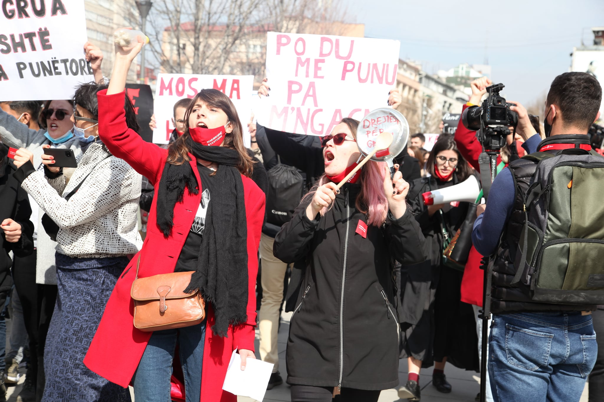 Kosovo's Capital Marches against Patriarchy 'That Kills'