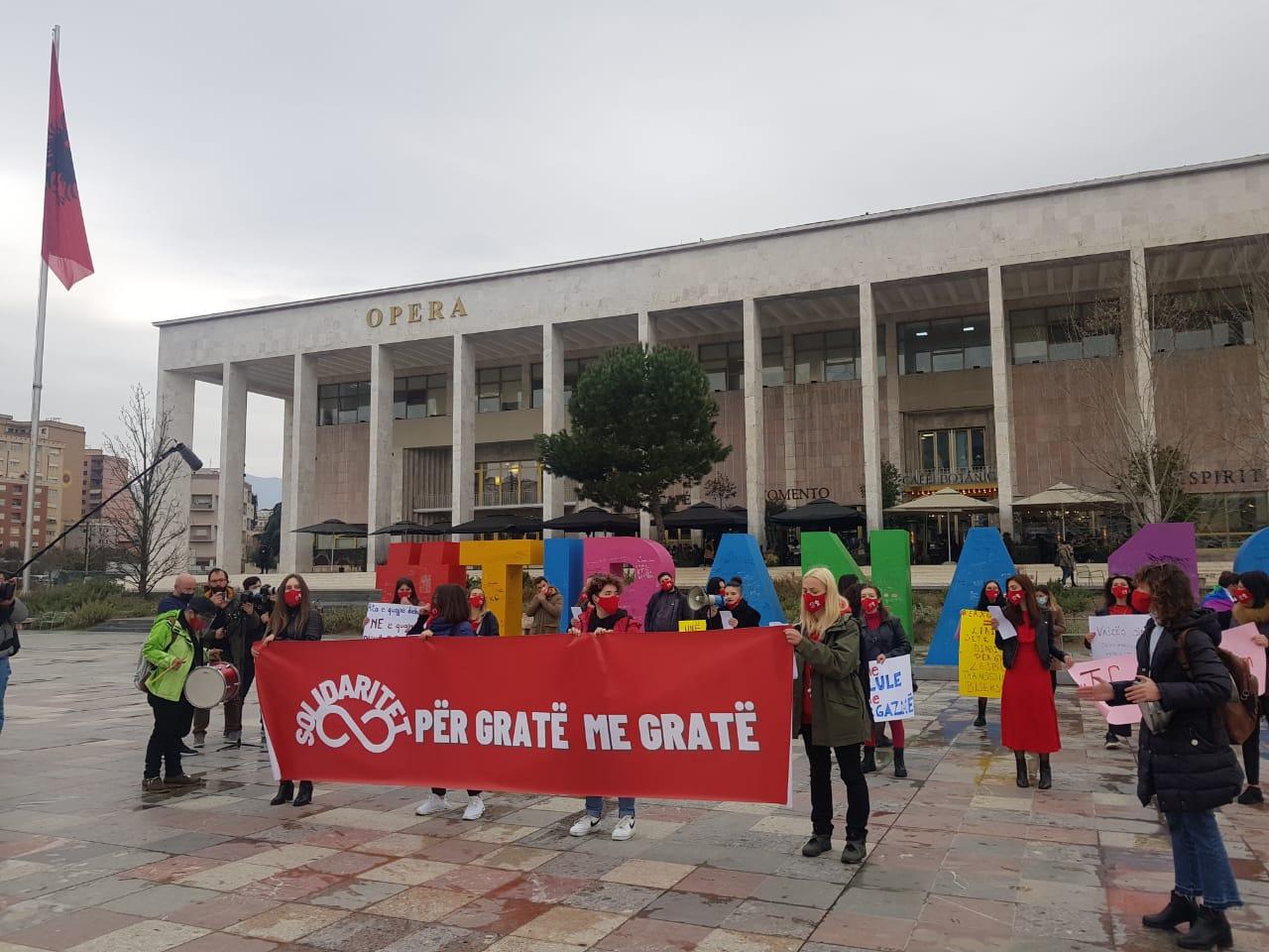 albania march8 2