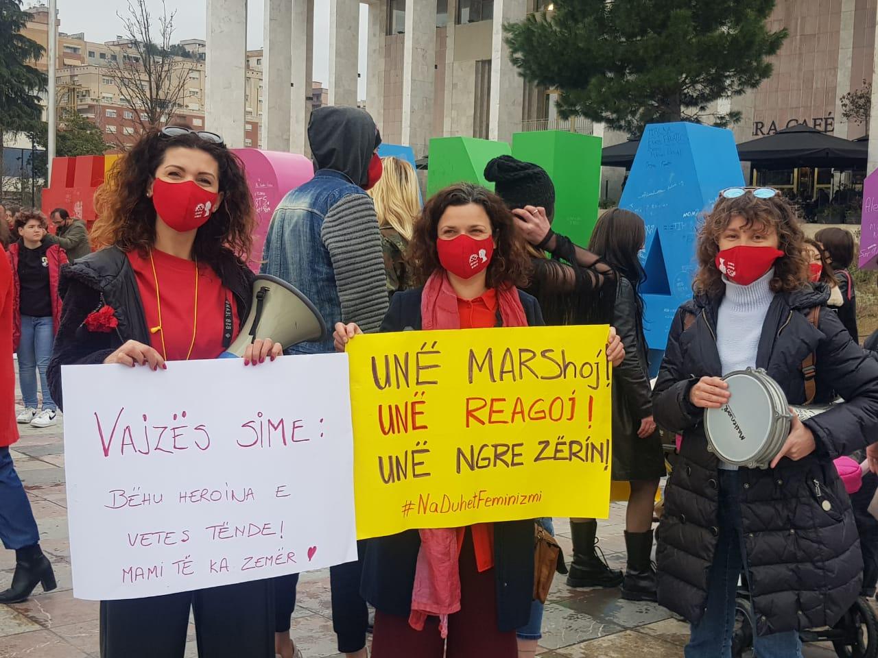 albania march8