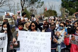 """""""Stop Killing Our Best Friends"""" Citizens Protest Against Poisoning of Stray Dogs by Tirana Municipality"""