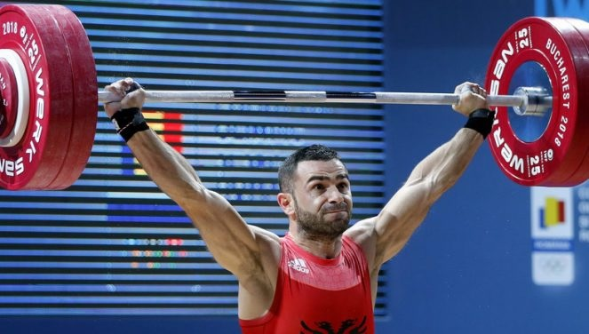 Albanian Weightlifter Wins Medals at European Weightlifting Championships