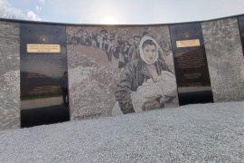 Kosovo Unveils Memorial to War Refugees Fleeing Serbia's Massacres