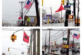 Flamurë për Ditën e Pavarësisë në Nju Jork