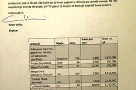 Erion Veliaj: Një urinim kushton 200 dollarë