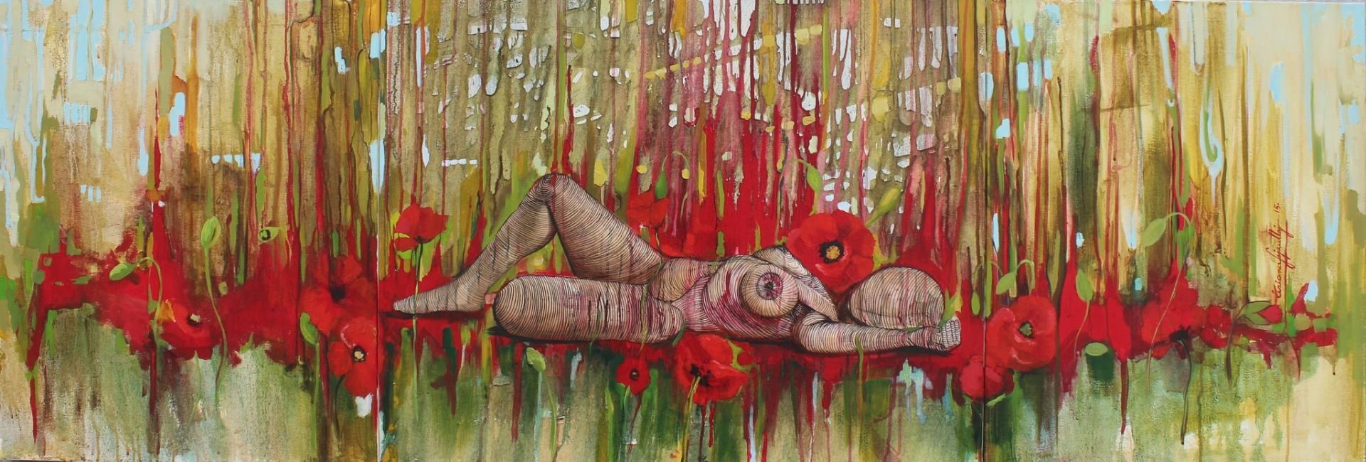 Një piktore shqiptare ekspozon në Nju Jork