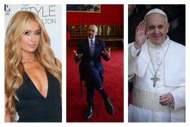 Mes Papa Françeskos dhe Paris Hiltonit