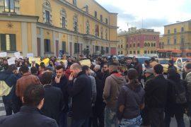 Protestë kundër vendimeve të Kryebashkiakut Veliaj