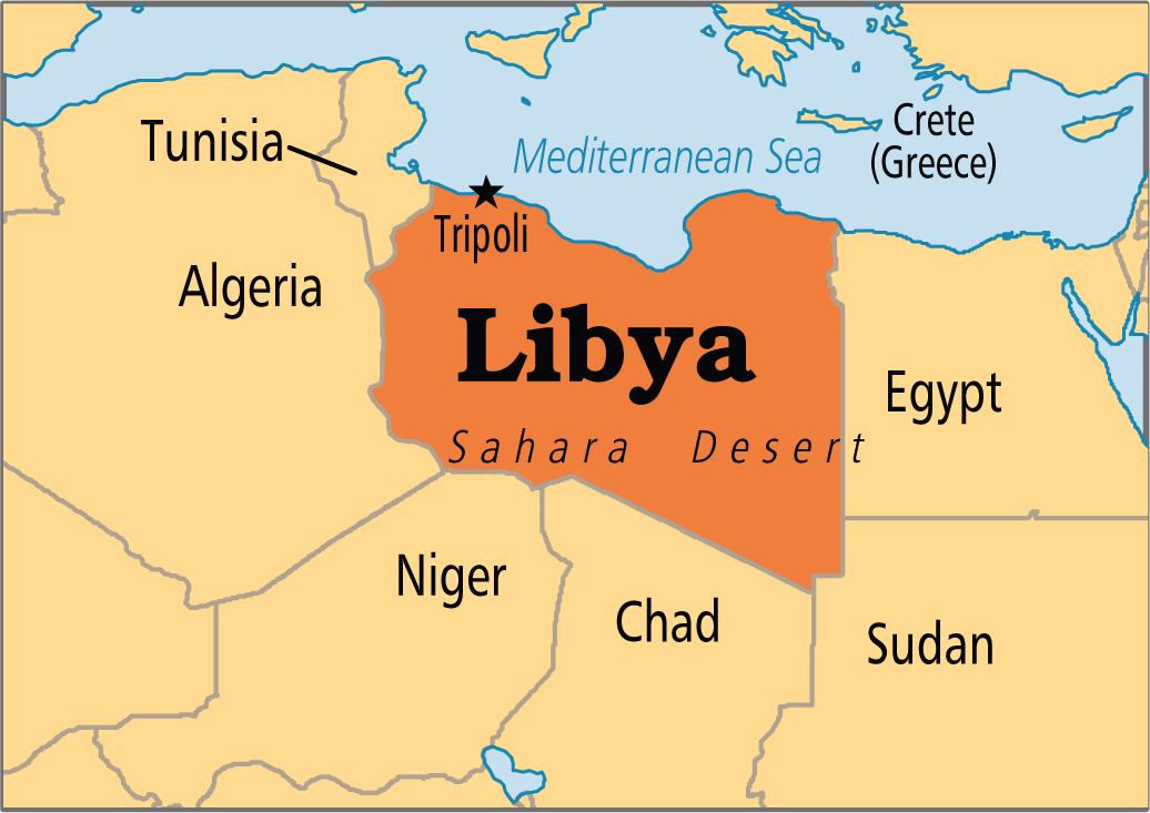 Ndarja e madhe e Libisë