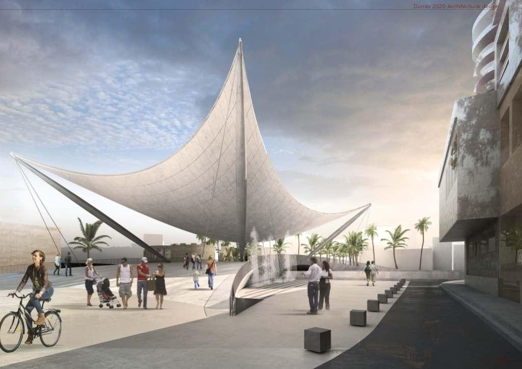 Arkitekti i stadiumit të ri, gjithashtu projektues i qendrës së re prej betoni të Durrësit