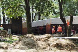 Masakra e betonit në Parkun e Liqenit — Pamjet më të fundit