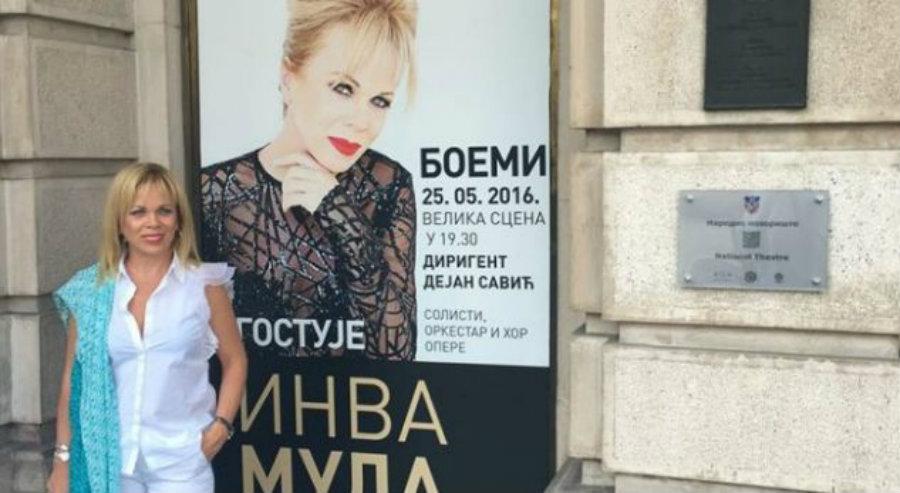 Inva Mula interpreton për herë të parë në Serbi