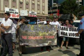 """""""Larg duart nga Valbona"""" – Qytetarët në protestë kundër hidrocentraleve në Valbonë"""