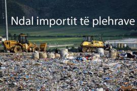 Qeveria shtyn miratimin e ligjit të importit të mbetjeve