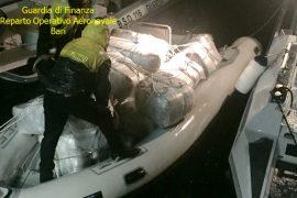 Itali, kapet gomonia me 277 kg marijuanë, arrestohen 4 shqiptarë