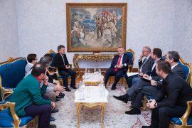 """Ilir Meta """"me tolerancë"""" barazon qytetarët me importuesit e mbetjeve"""