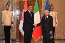 Presidenti i Italisë: Serbia duhet të anëtarësohet sa më shpejt në BE