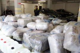 Guardia di Finanzia sekuestron 2,3 ton kanabis me prejardhje nga Shqipëria