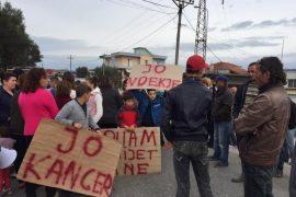 Protestat kundër inceneratorit në Verri, policia dhunon banorët
