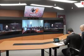 """Rama tallet me punëtorët e ARMO-s në një videokonferencë të """"bashkëqeverisjes"""""""