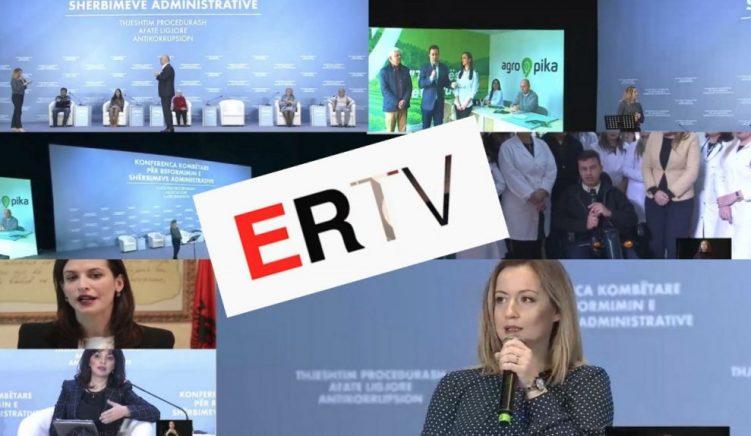 ERTV çmend qeverinë, ministrat vënë në skenë spektaklin grotesk