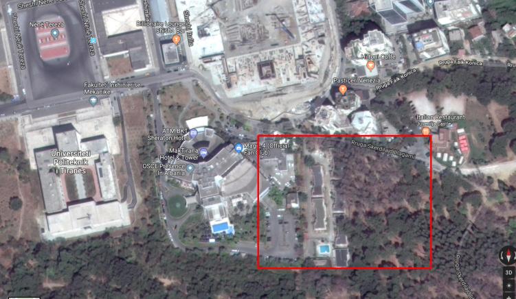 Tre kulla priten të ndërtohen në krah të ish-hotel Sheraton
