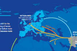 Kombet e Bashkuara: Grupet shqiptare në krye të trafikut ndërkombëtar të drogës