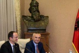 Marrëveshja e detit, Presidenti takim me Bushatin e Komisionin e Jashtëm