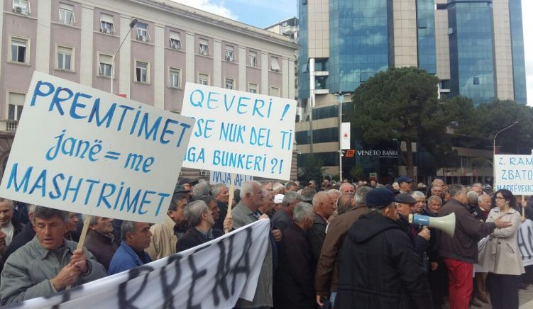Minatorët protestojnë, kërkojnë miratimin e statusit