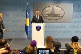 Dorëhiqet Ramush Haradinaj