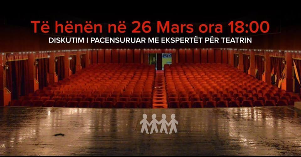 Aleanca për Mbrojtjen e Teatrit organizon sot dëgjesë publike për Teatrin Kombëtar