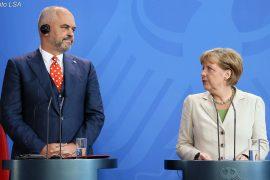 Merkel nuk i premton Shqipërisë hapjen e negociatave