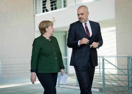 Rama takon Merkel — Kosova dhe Tahiri dy çështjet kyçe të bisedimeve